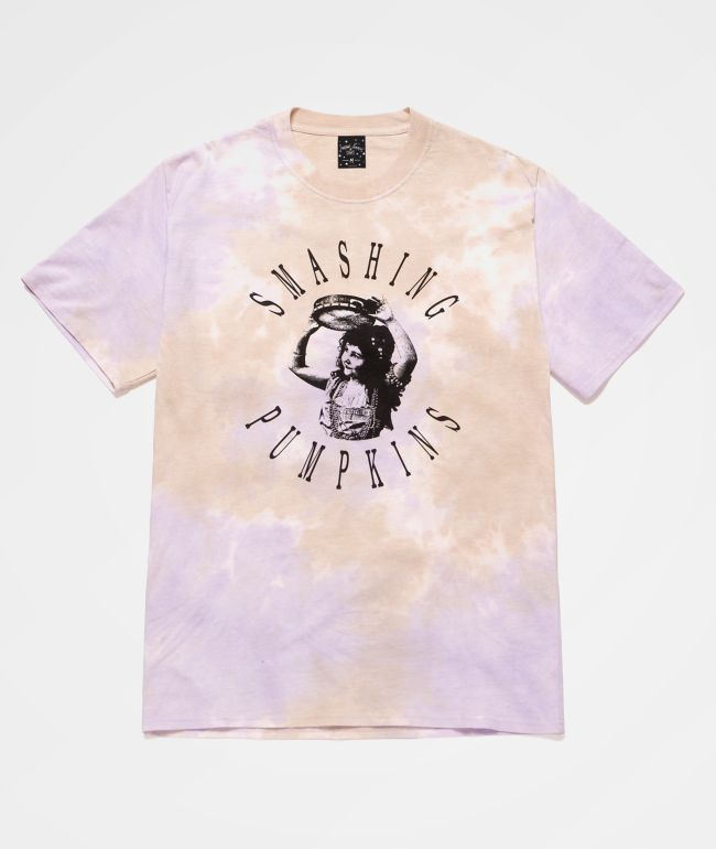 HUF x The Smashing Pumpkins Altitude Violet Marble Wash T-Shirt