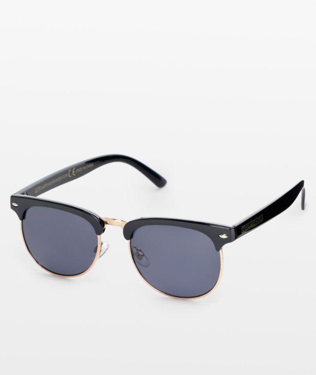 Happy Hour G2 gafas de sol en negro y dorado