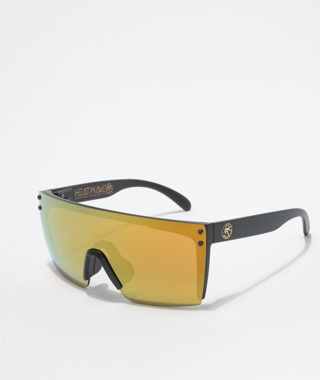 Heat Wave Lazer Face Gold Rush Sunglasses
