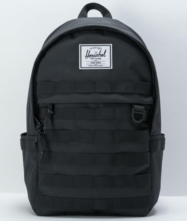 Herschel Supply Co. Anderson Black Backpack
