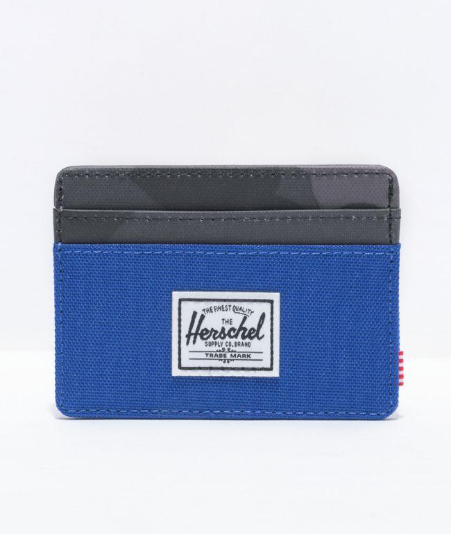 Herschel Supply Co. Charlie Surf The Web & Camo Cardholder Wallet