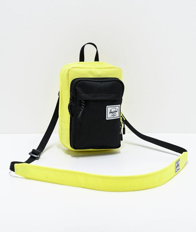 Herschel Supply Co. Form Large Highlighter Yellow Shoulder Bag