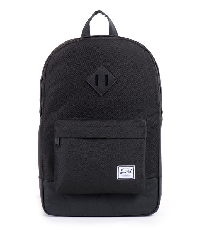 Herschel Supply Co. Heritage Black On Black Backpack