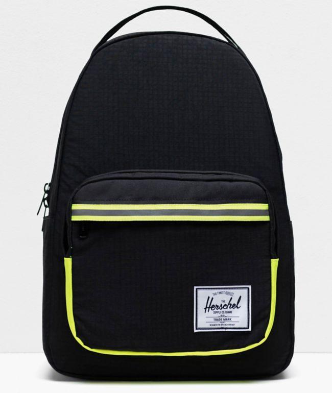 Herschel Supply Co. Miller Enzyme Black Backpack