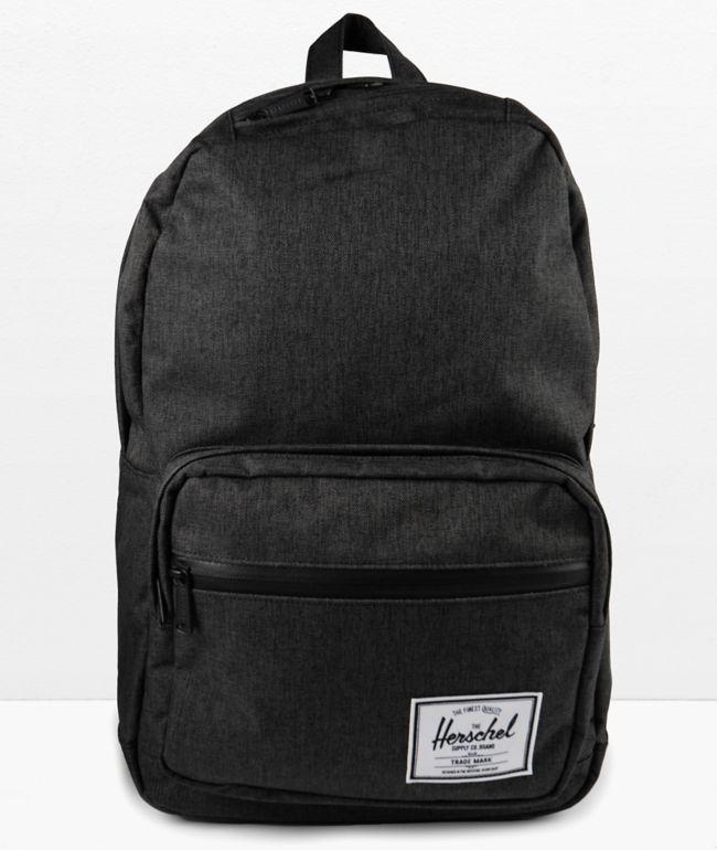 Herschel Supply Co. Pop Quiz Black Crosshatch Backpack