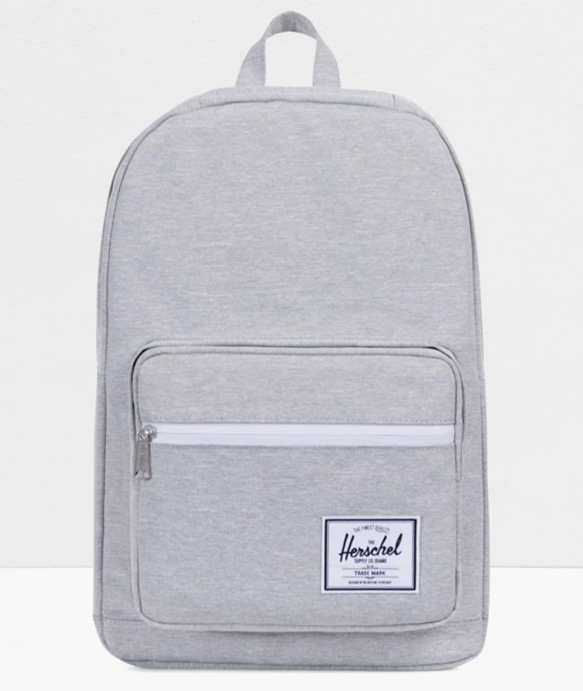 Herschel Supply Co. Pop Quiz Light Grey Crosshatch Backpack