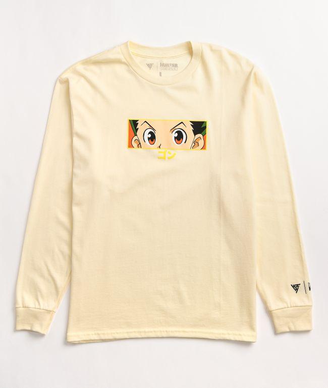 Hypland x Hunter x Hunter Gon Eye Cream Long Sleeve T-Shirt