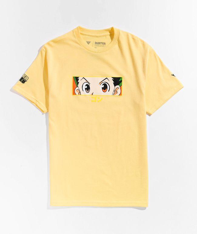 Hypland x Hunter x Hunter Gon Eye Yellow T-Shirt