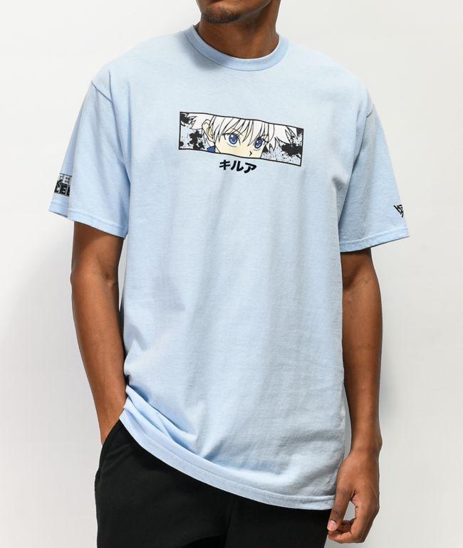 Hypland x Hunter x Hunter Killua Eye Blue T-Shirt