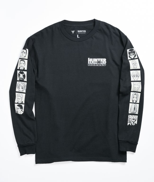 Hypland x Hunter x Hunter Phantom Black Long Sleeve T-Shirt