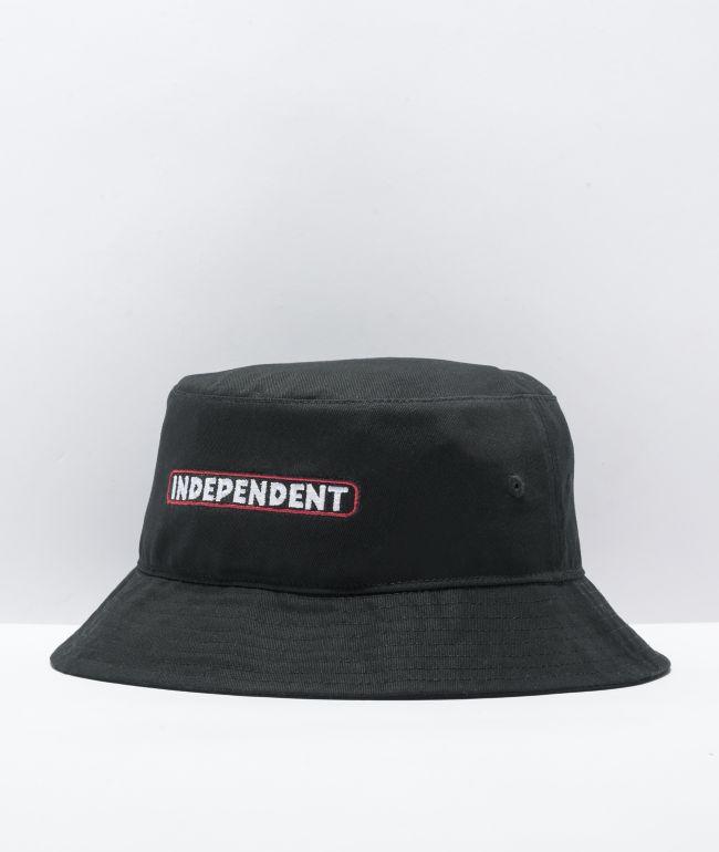 Independent Bar Black Bucket Hat