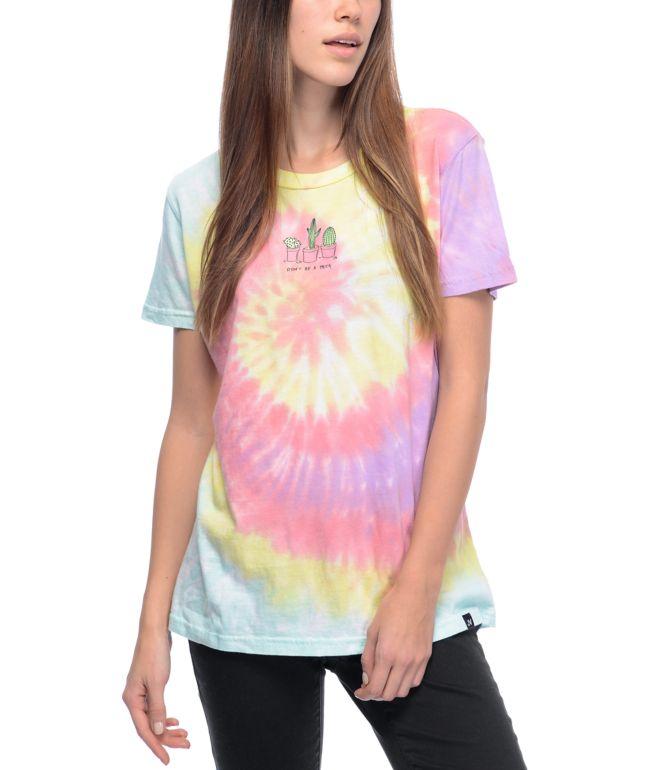 JV by Jac Vanek Don't Be A Prick Tie Dye T-Shirt