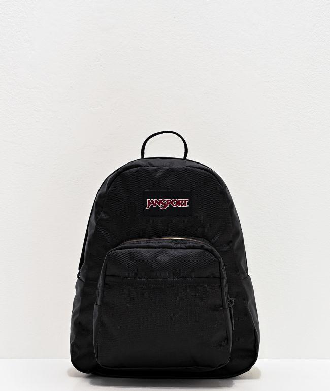 JanSport Half Pint FX Lush Black Mini Backpack