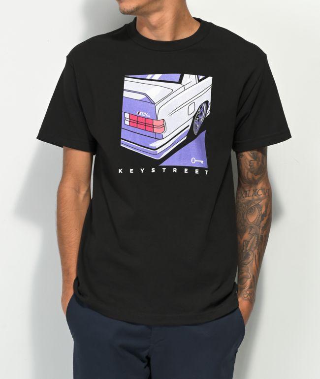 Key Street Autobahn Black T-Shirt