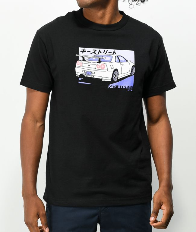 Key Street Kaiju Kuruma Black T-Shirt