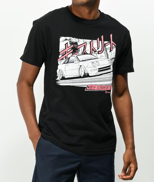 Key Street Speedin Black T-Shirt