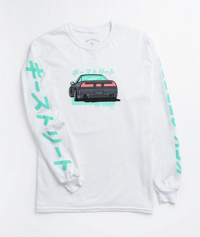 Key Street Super X White Long Sleeve T-Shirt