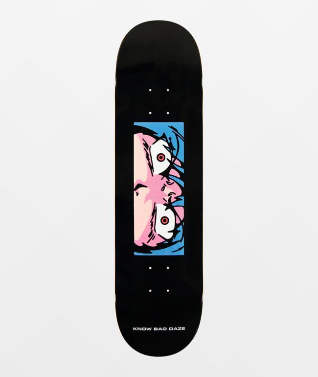 """Know Bad Daze Anger Eyes 8.25"""" Skateboard Deck"""