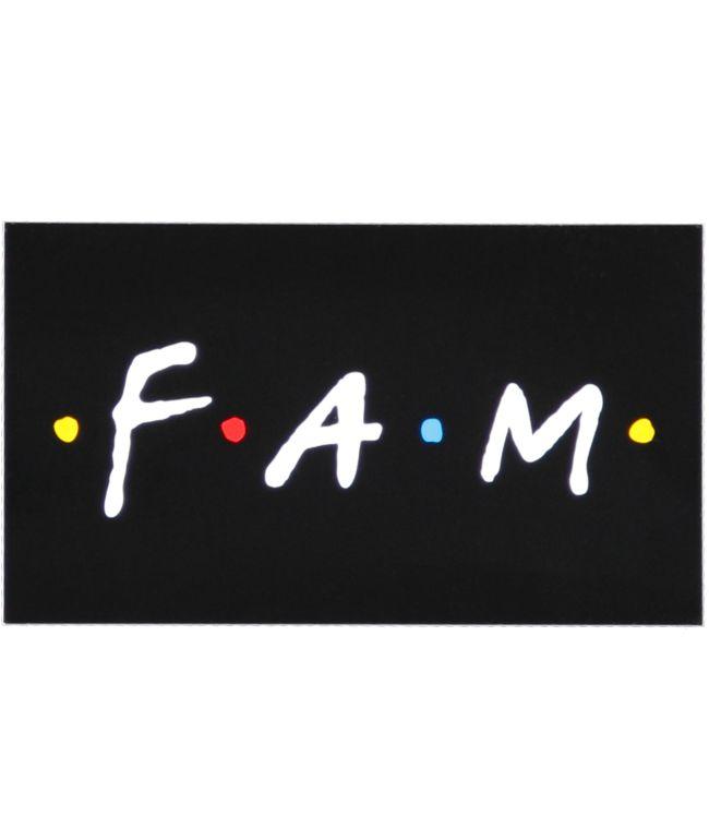 Know Bad Daze Fam Sticker