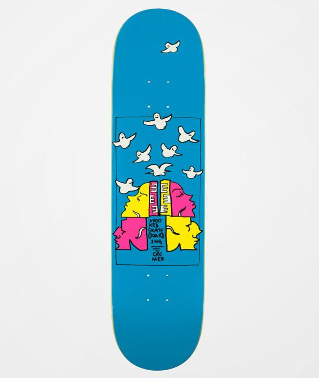 8.25 Krooked Skateboards Cromer Crowned Deck