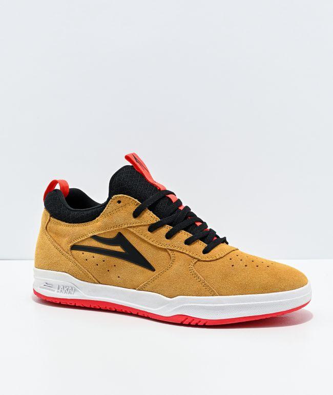 Lakai Proto Tan Suede Skate Shoes