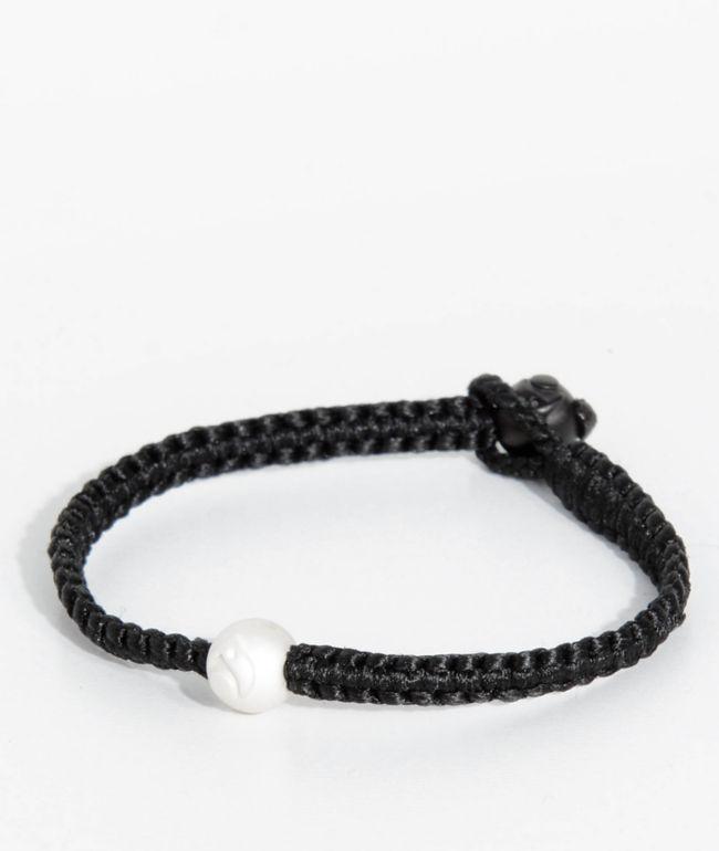 Lokai Single Wrap Black Bracelet | Zumiez
