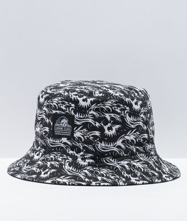 Lurking Class by Sketchy Tank Deathwave Reversible Bucket Hat