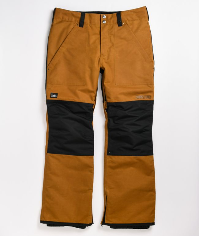 Lurking Class by Sketchy Tank Lurk Wear Tobacco 10K Snowboard Pants