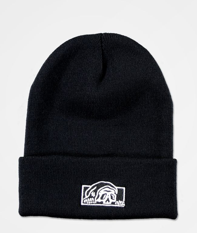 Lurking Class by Sketchy Tank Lurker Black Beanie