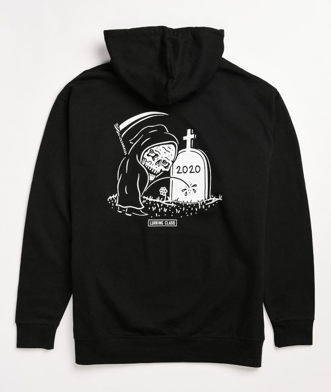 Lurking Class by Sketchy Tank Rest In Piss 2020 Black Hoodie