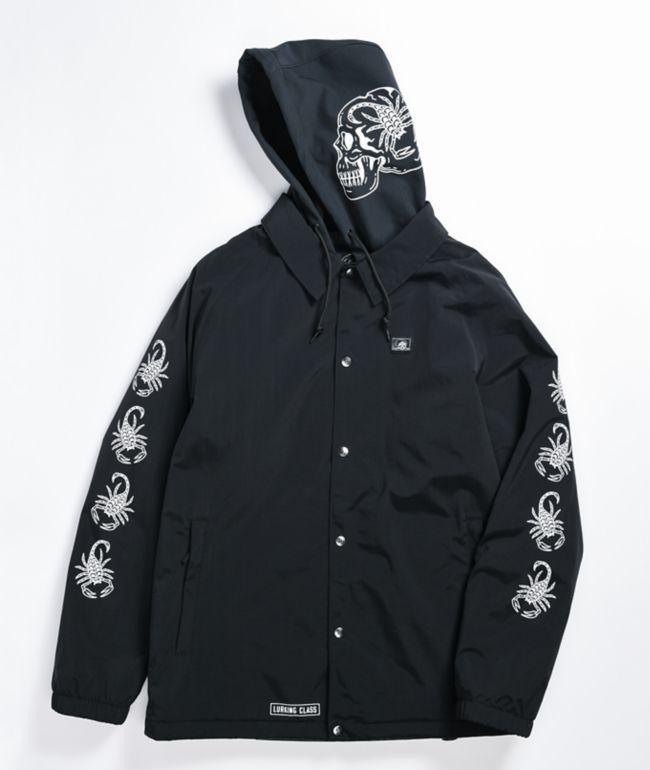 Lurking Class by Sketchy Tank Scorp Black 10K Snowboard Jacket