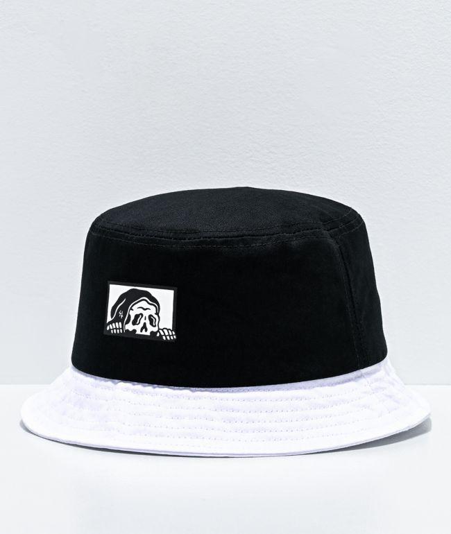 Lurking Class by Sketchy Tank sombrero de cubo negro y blanco