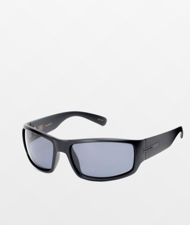 Madson 101 Black & Grey Polarized Sunglasses