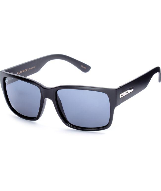 Madson X Santa Cruz Classico Black Polarized Sunglasses