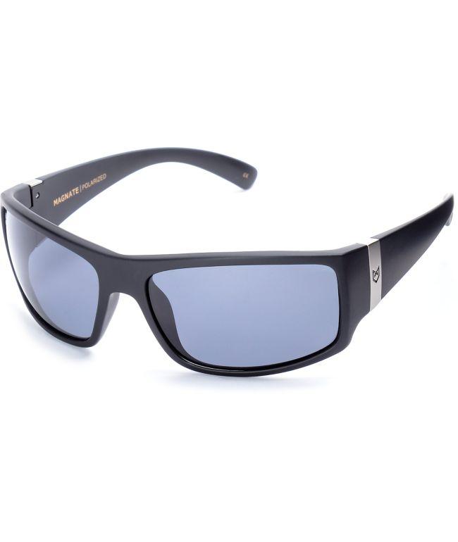 Madson X Santa Cruz Magnate Black Polarized Sunglasses