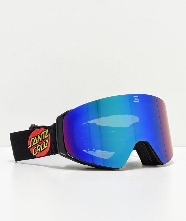 Madson x Santa Cruz Cylindro Screaming Hand Snowboard Goggles