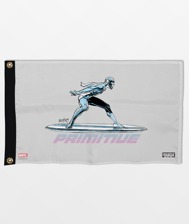 Marvel x Moebius by Primitive Silver Surfer Banner