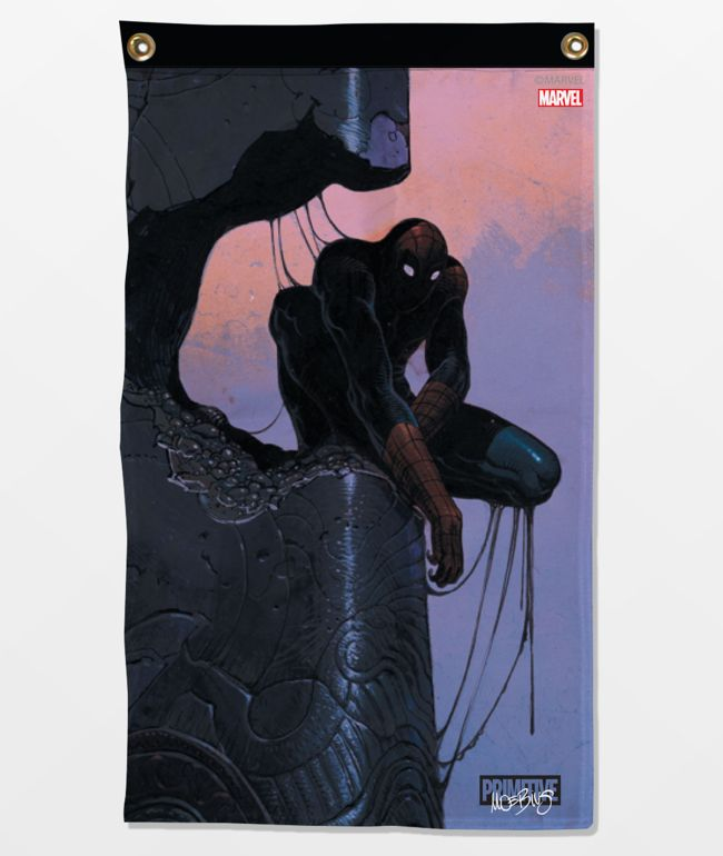 Marvel x Moebius by Primitive Spider-Man Banner