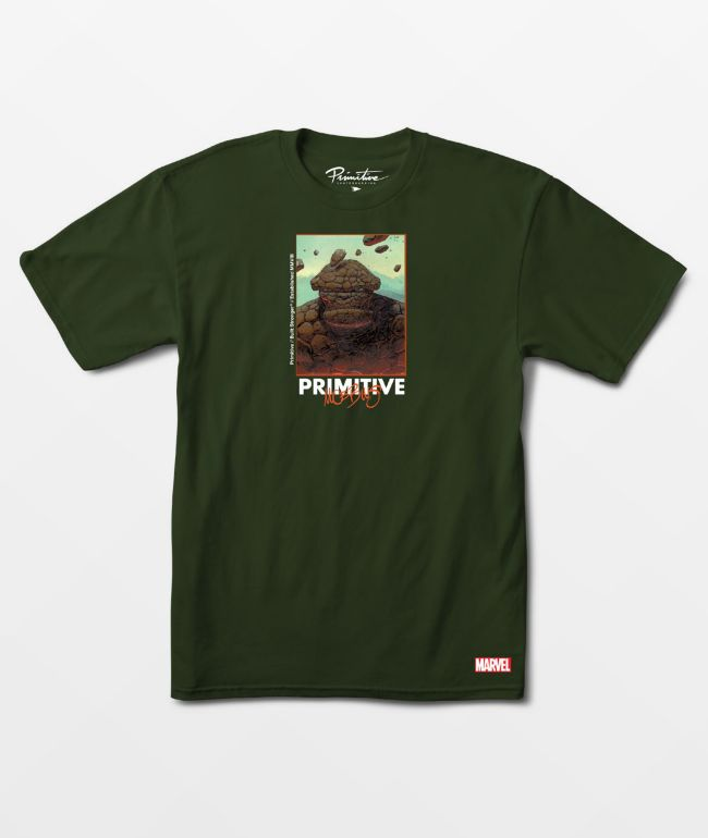 Marvel x Moebius by Primitive Thing Grey T-Shirt
