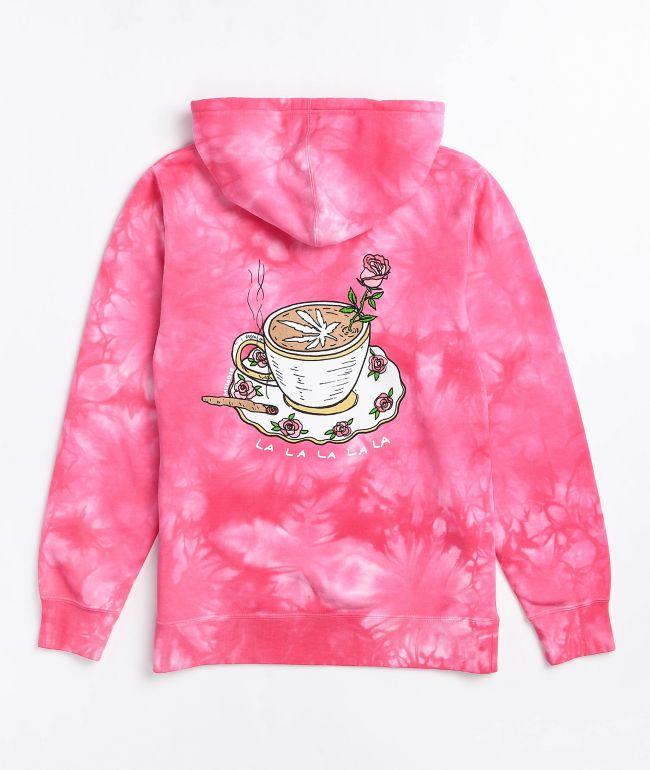 Melodie Perfection Pink Tie Dye Hoodie