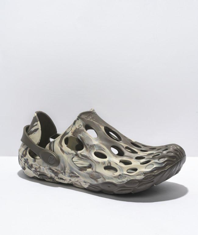 Merrell Hydro Moc Boulder Clog Shoes