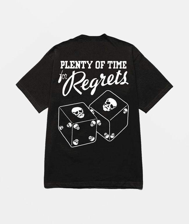 Misery Worldwide Regrets Black T-Shirt