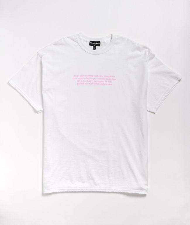 NGOrder Manifesto White T-Shirt