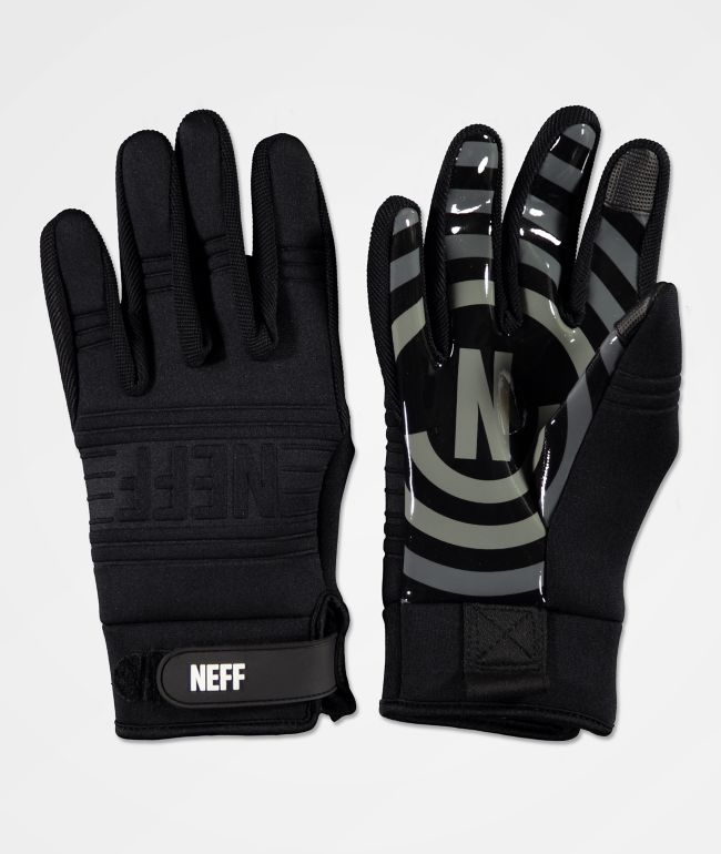 Neff Daily Black & Grey Pipe Snowboard Gloves