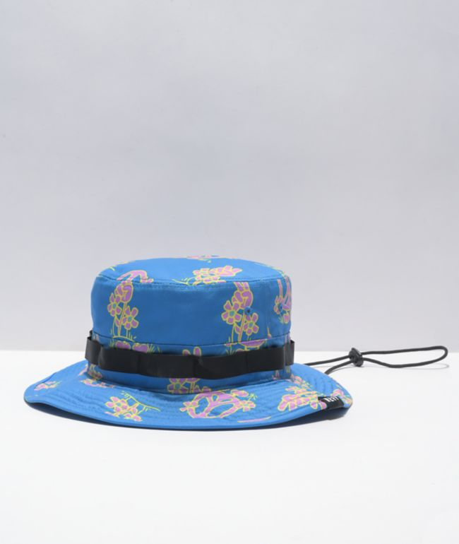 Neff Peace Tribe Blue Boonie Hat