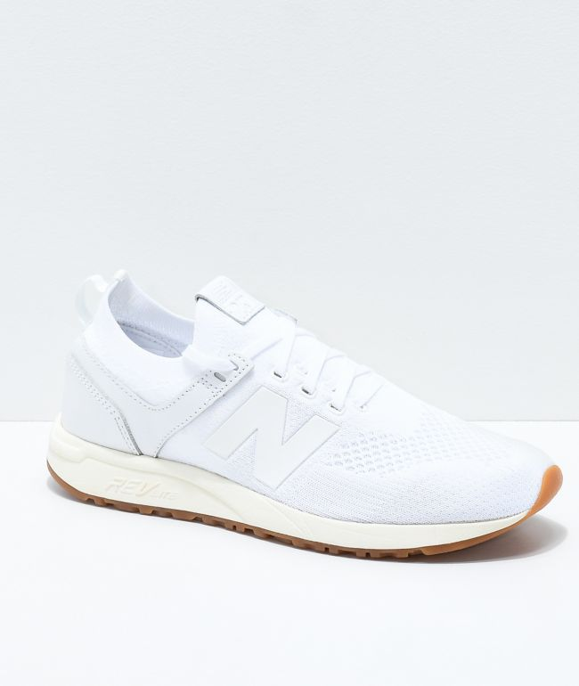 New Balance Lifestyle 247 Deconstructed White Shoes