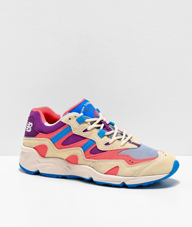 New Balance Lifestyle 850 Bone & Tahiti Pink Shoes