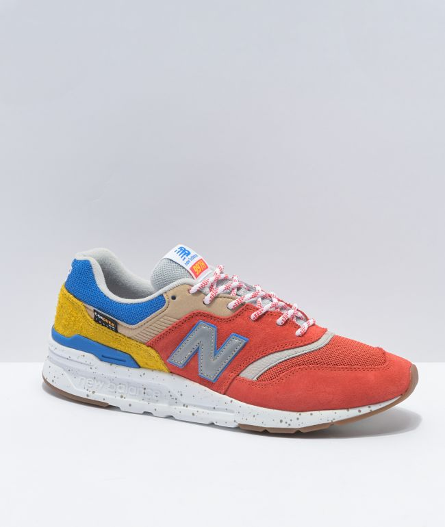 New Balance Lifestyle 997H Energy Red & Atomic Yellow Shoes