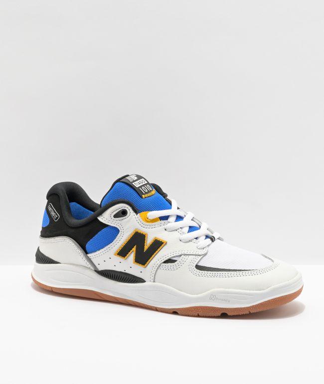 New Balance Numeric 1010 Tiago Lemos White & Blue Skate Shoes