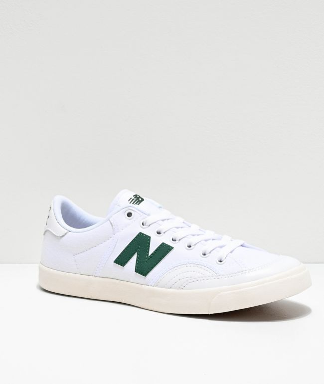 New Balance Numeric 212 White \u0026 Green